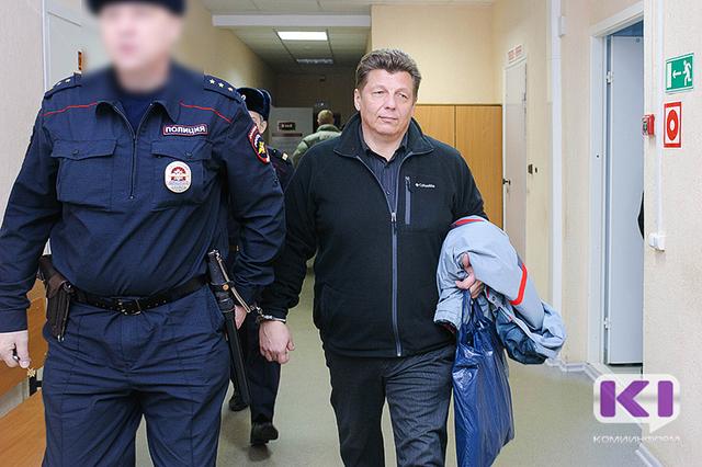 Оглашение приговора по делу бывшего руководителя Комитета лесов Василия Осипова и его замов началось в Коми