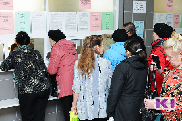 В Коми на прошлой неделе за медпомощью с симптомами ОРВИ обратились 7 886 человек