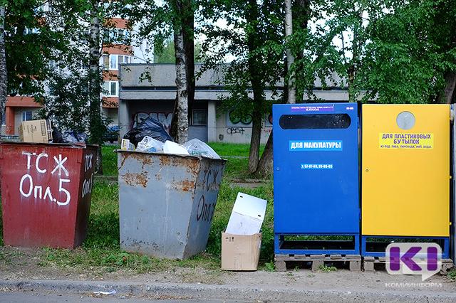 Контейнеры по раздельному сбору мусора летом появятся и в садоводческих товариществах Эжвы