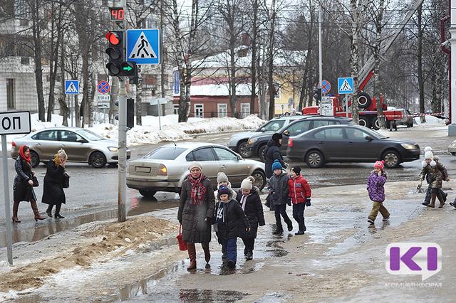 В Сыктывкаре на прошлой неделе от уличных травм пострадали 98 человек