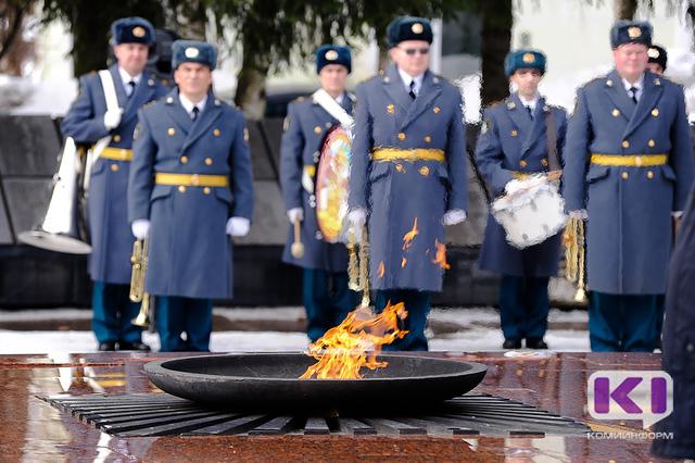В Сыктывкаре впервые отметили день Нацгвардии России