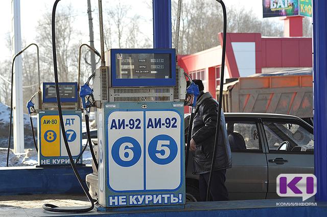 Цены набензин вРФ занеделю увеличились на0,1%