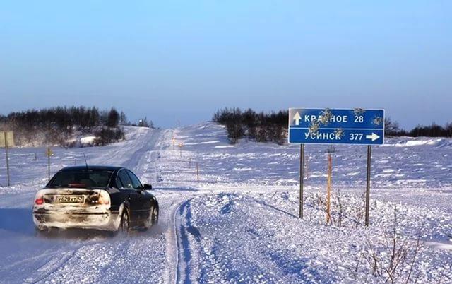 Зимник Нарьян-Мар — Усинск перешел на ночной режим