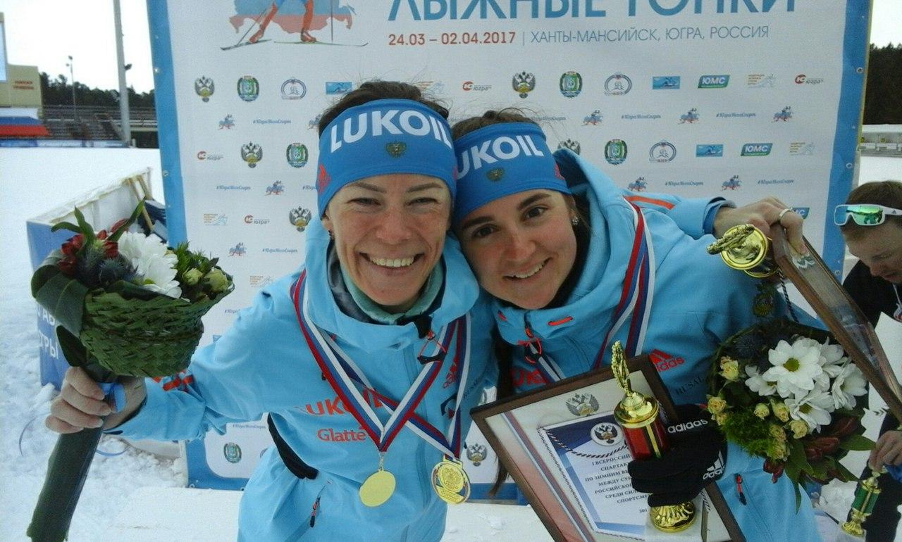Лыжницы из Коми — чемпионки страны