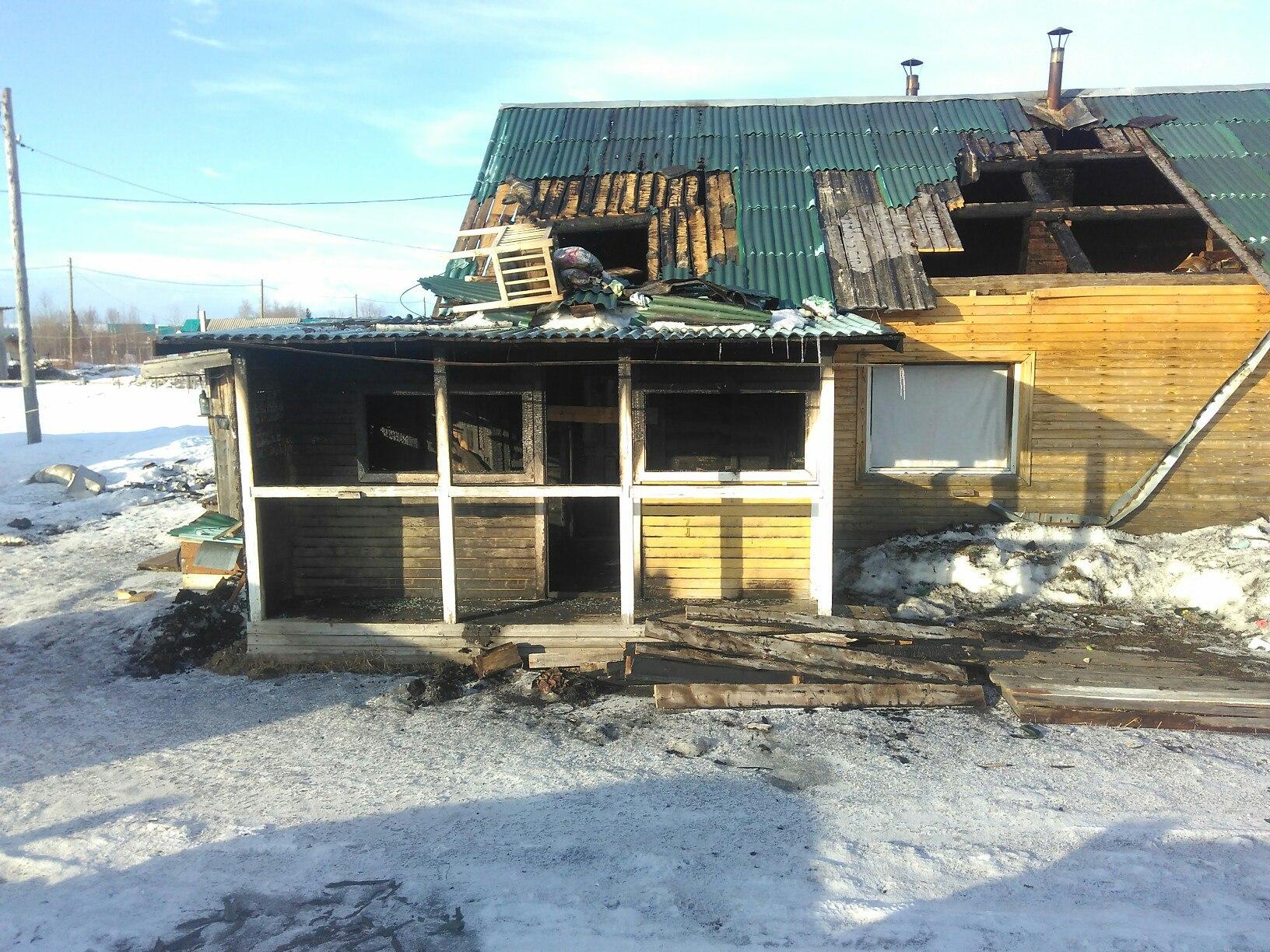 Пострадавшим на пожаре в селе Мохча нужна помощь