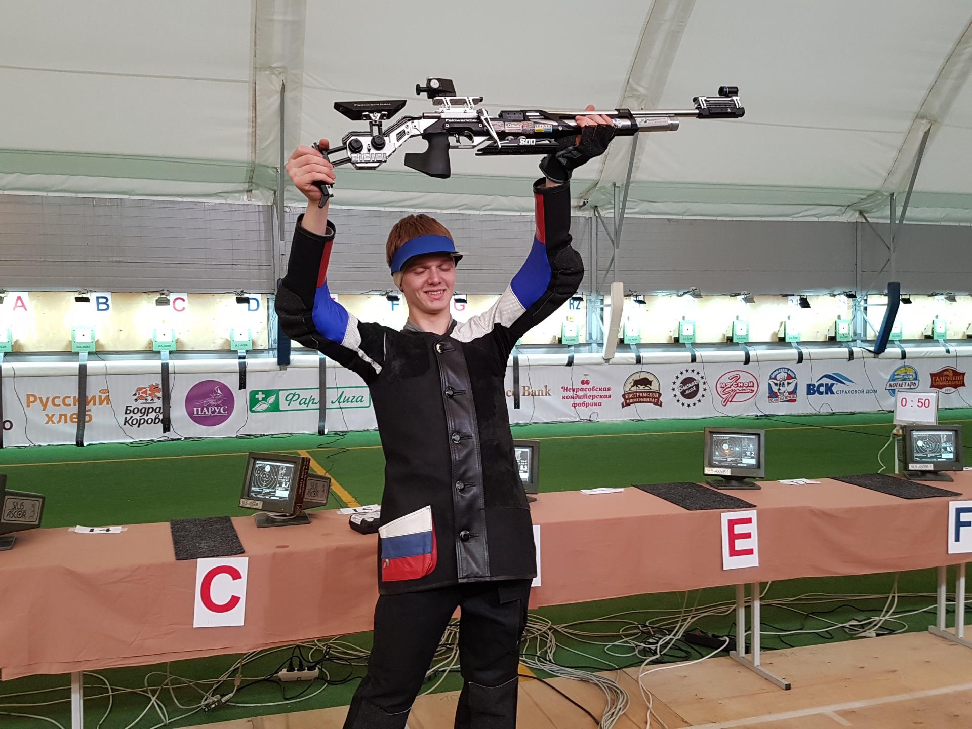 Юный стрелок из Коми стал победителем всероссийских соревнований