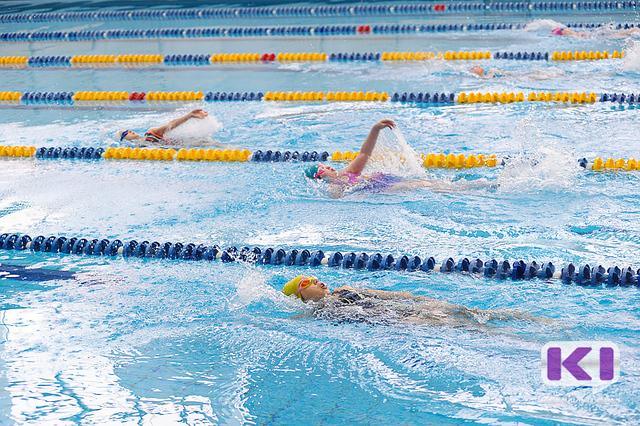 Недетские страсти разгорелись в Сыктывкаре на первом плавательном турнире для спортсменов 7-9 лет