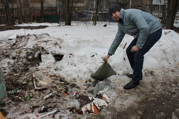 Активисты ОНФ выяснили, что отчет чиновников о ликвидированной свалке в Сыктывкаре не соответствует действительности