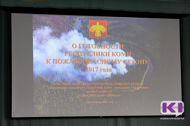 Республика Коми первая на Северо-Западе защитила план борьбы с лесными пожарами