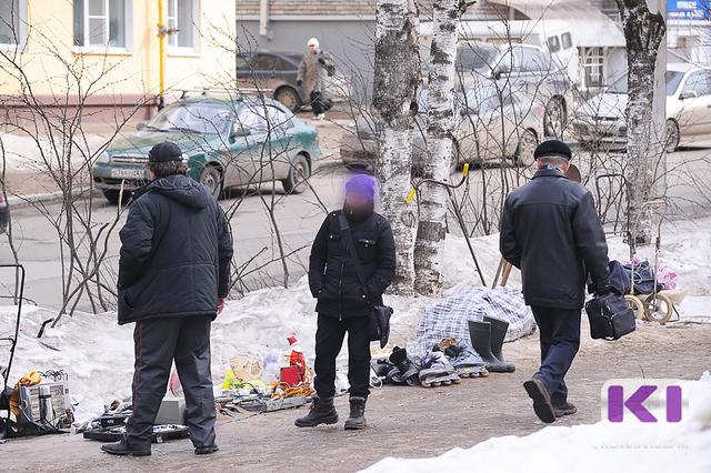 Барахолку в центре Сыктывкара будет патрулировать полиция