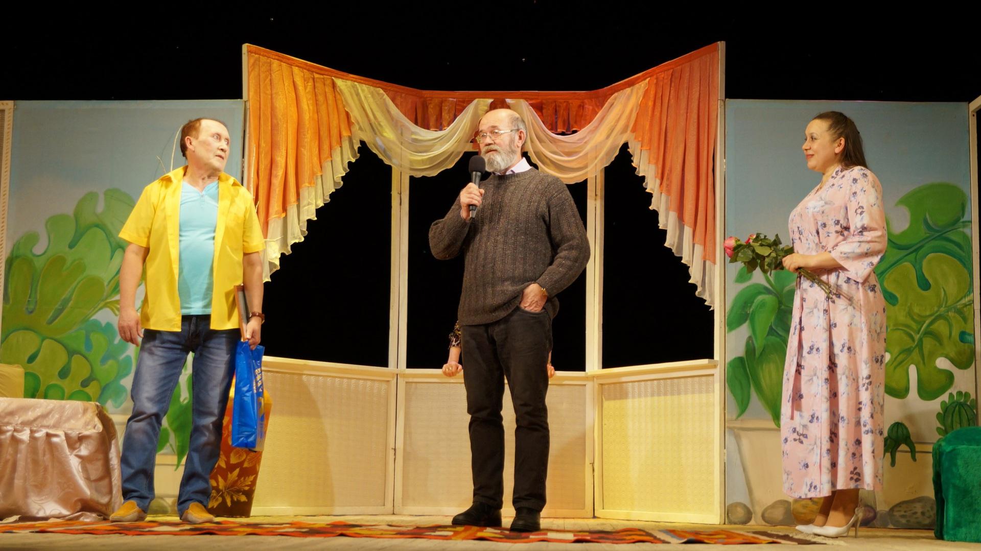 Коми пьеса зазвучала на чувашском языке