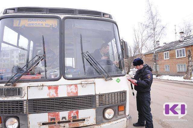 Каждый второй автобус в Сыктывкаре неисправен