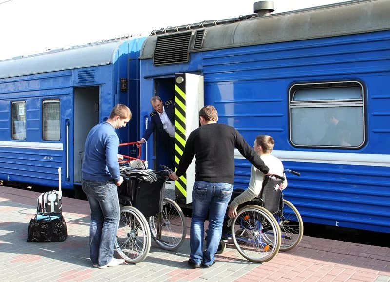 Сотрудники железнодорожных станций не смогут отказать людям с инвалидностью при посадке в поезд