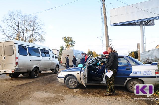 Таксисты Сыктывкара помогут ловить пьяных на дорогах