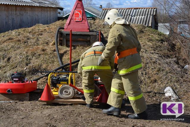 МЧС по Коми проверит населенные пункты на пожаробезопасность