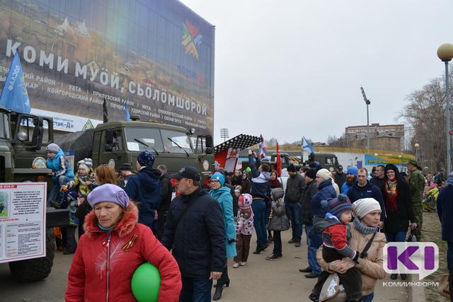 Жители Сыктывкара узнают о судьбах фронтовиков и знакомятся с военной техникой