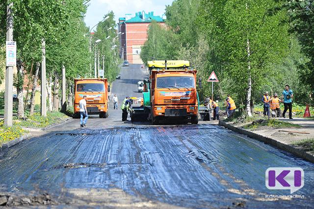 Гарантийный ремонт сыктывкарских дорог должны завершить не позднее 1 июля