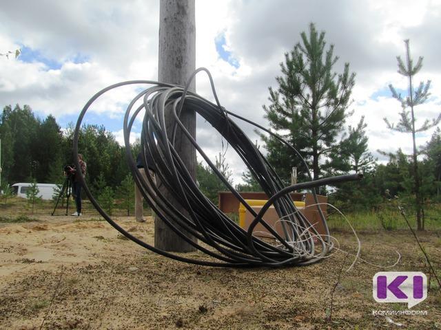В Прилузском районе с 16 мая без света остаются два населенных пункта