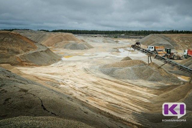 В Сыктывкаре украли 600 тонн щебня