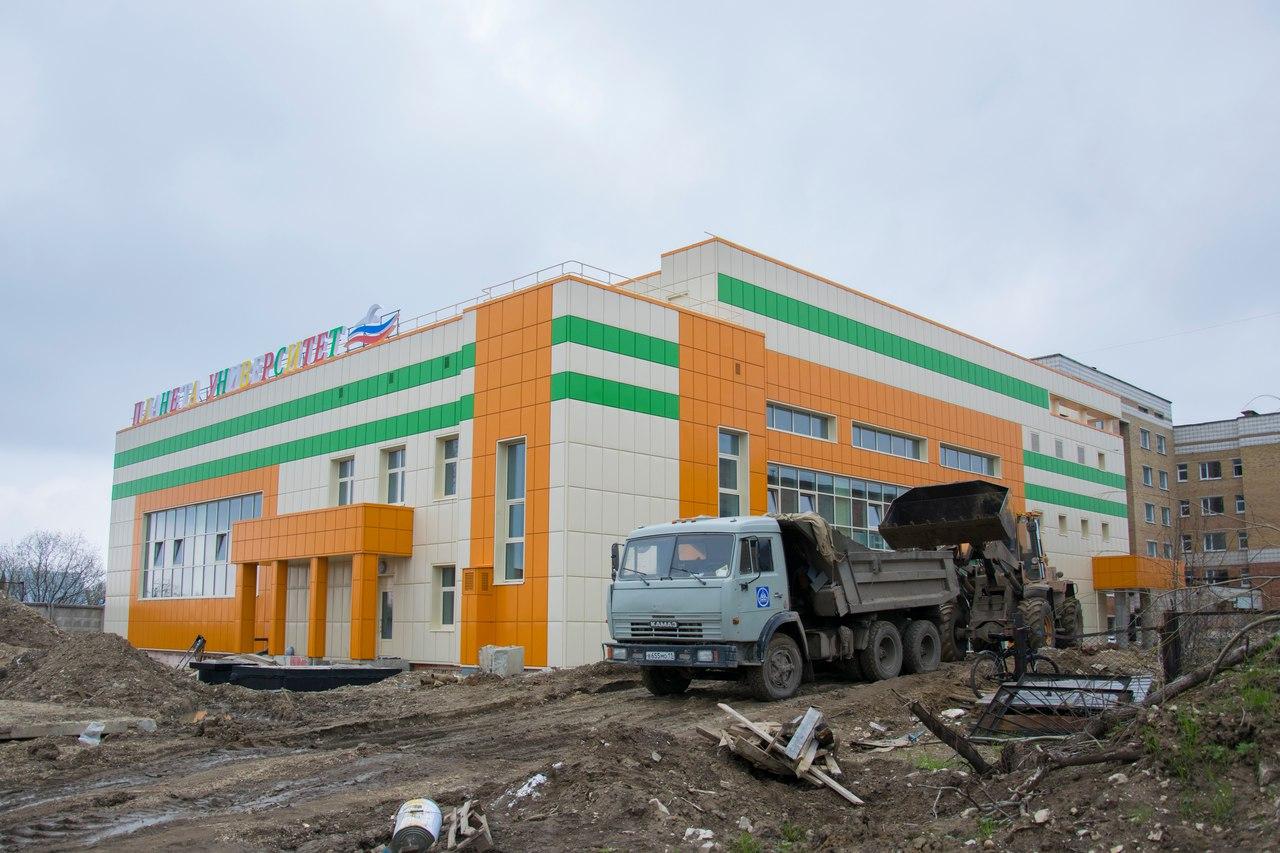 В Ухте подходит к концу строительство нового бассейна