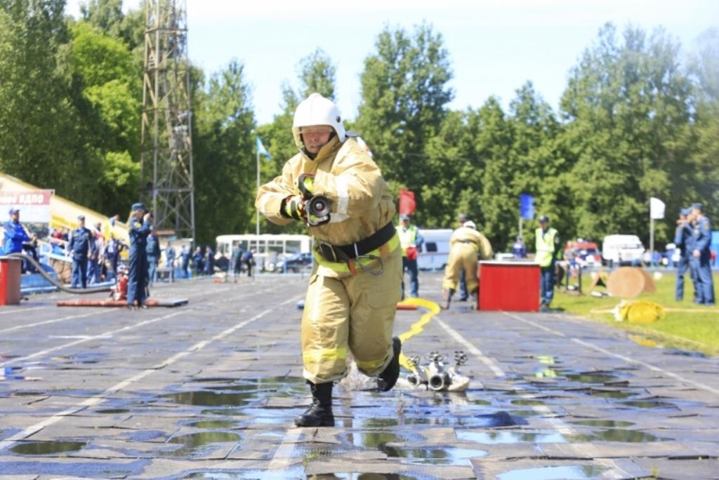 Пожарные добровольцы Коми стали вторыми на соревнованиях по Северо-Западу