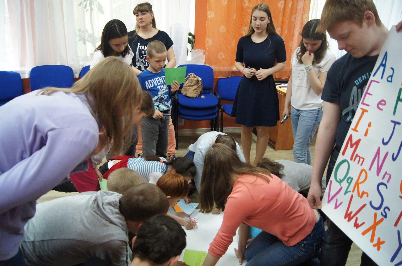 Сыктывкарские особые дети изучали английский на зарядке