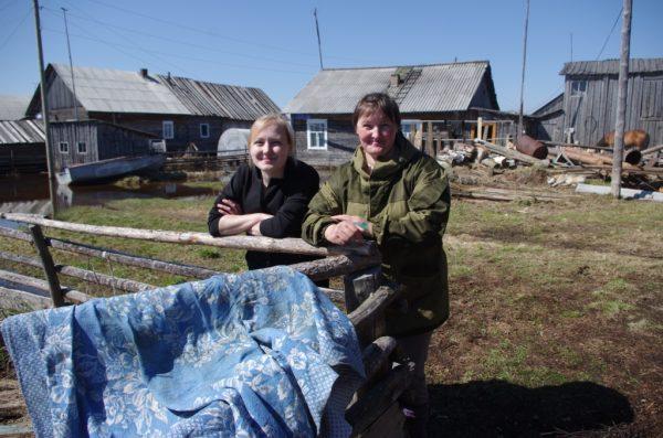 Уровень воды в реке Печора в районе Усть-Цильмы начал снижаться