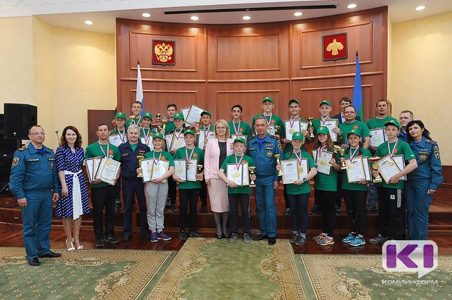 Юные спасатели из Коми сразятся с сильнейшими командами России
