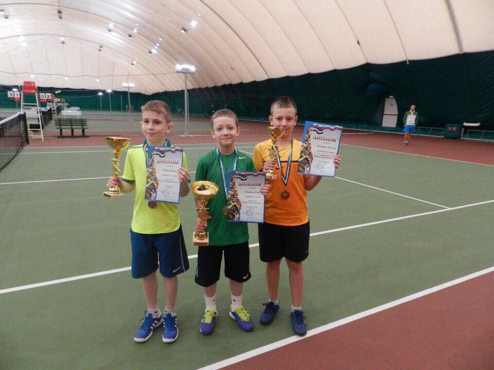 Иван Немиров из Сыктывкара стал победителем Российского теннисного турнира