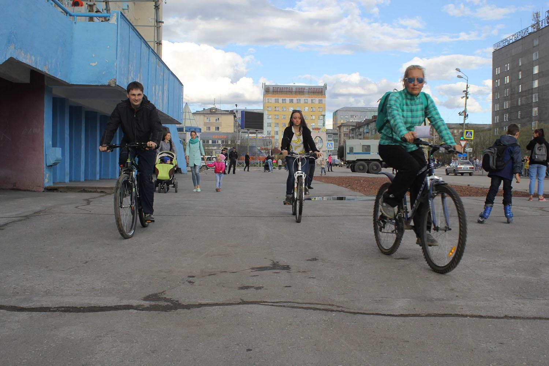 День молодежи в Воркуте прошел под знаком здорового образа жизни