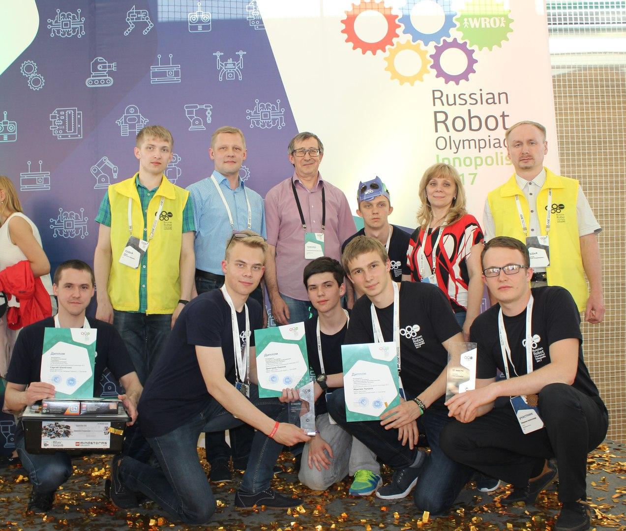 Две команды из Сыктывкара заняли призовые места на Всероссийской робототехнической олимпиаде