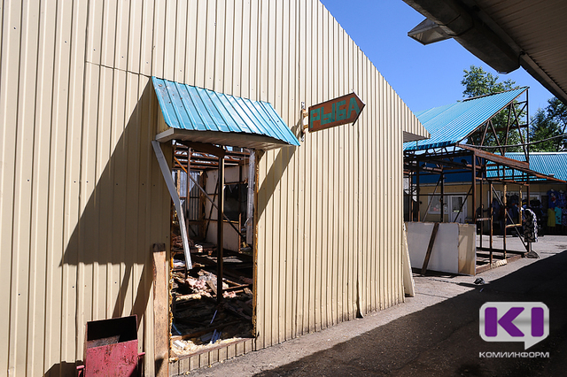 В Сыктывкаре демонтируют рынок у железнодорожного вокзала