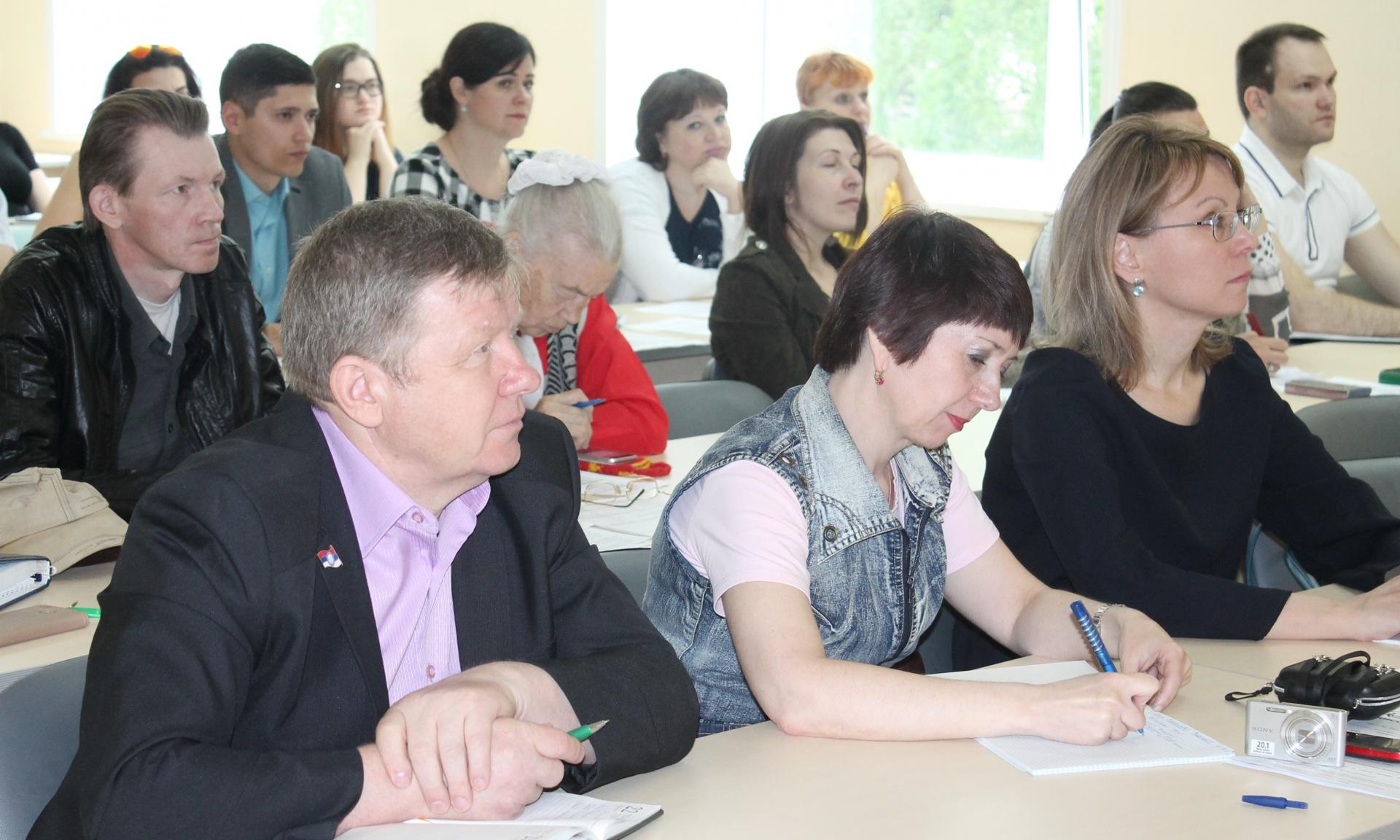 В Академии госслужбы состоялся семинар по социальному предпринимательству