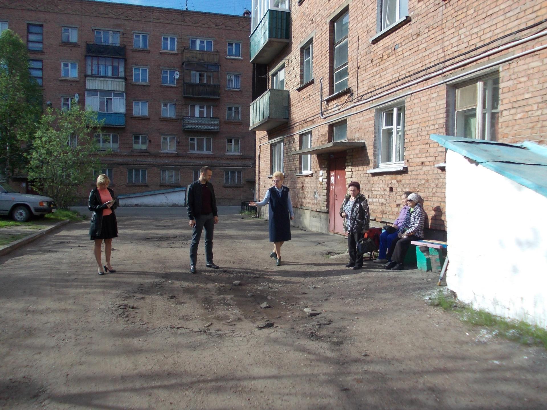 Подрядчик из Санкт-Петербурга благоустроит два двора в Инте