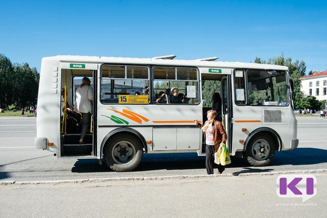 С 1 июля в Сыктывкаре временно изменяется схема движения по четырем автобусным маршрутам