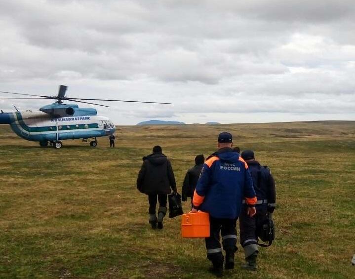 Сотрудники МЧС Воркуты спасли 24-летнего оленевода, на которого напал медведь
