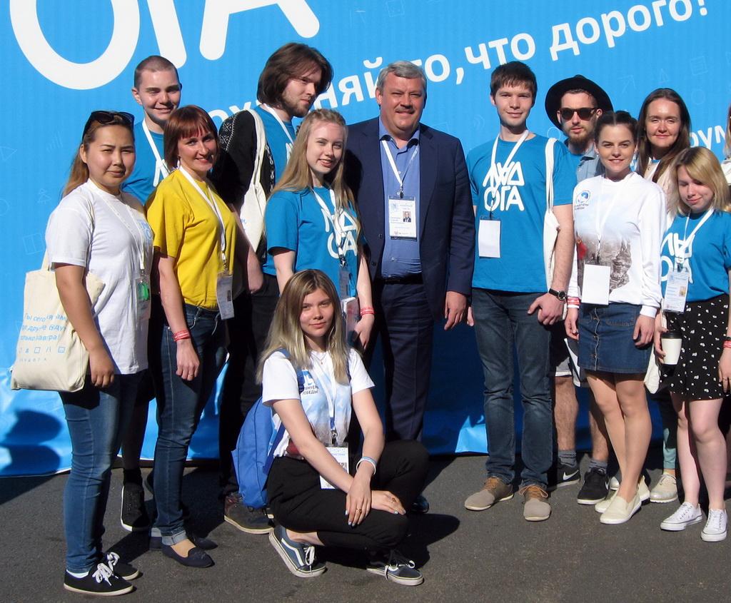 Молодежь Коми поделилась с Сергеем Гапликовым своим видением молодежной политики