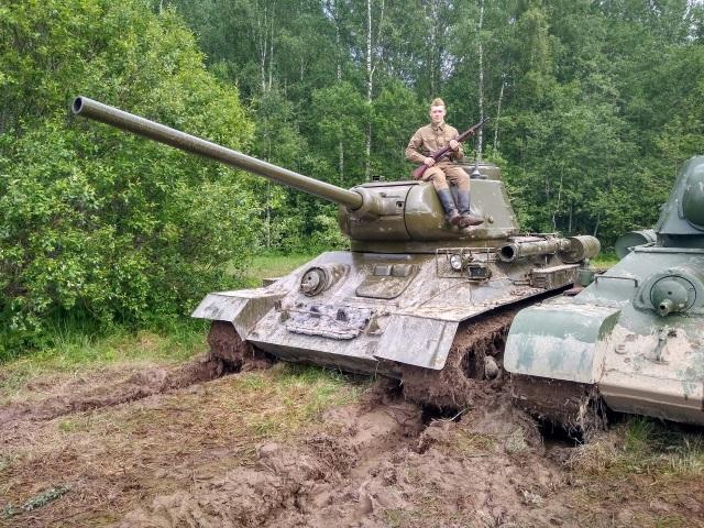 Юнармеец из Сыктывкара прошел фронтовой дорогой в память о солдатах 2-й ударной армии
