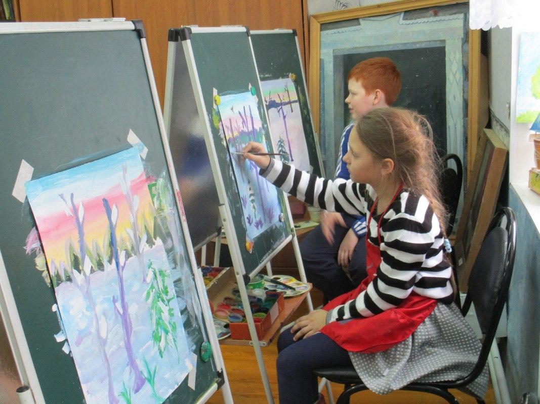 Юные сыктывкарские художники представят свое видение сказок Пушкина