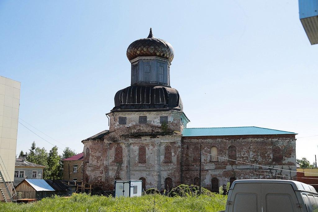 Глава Коми поддержал инициативу ижемцев по восстановлению Преображенской церкви