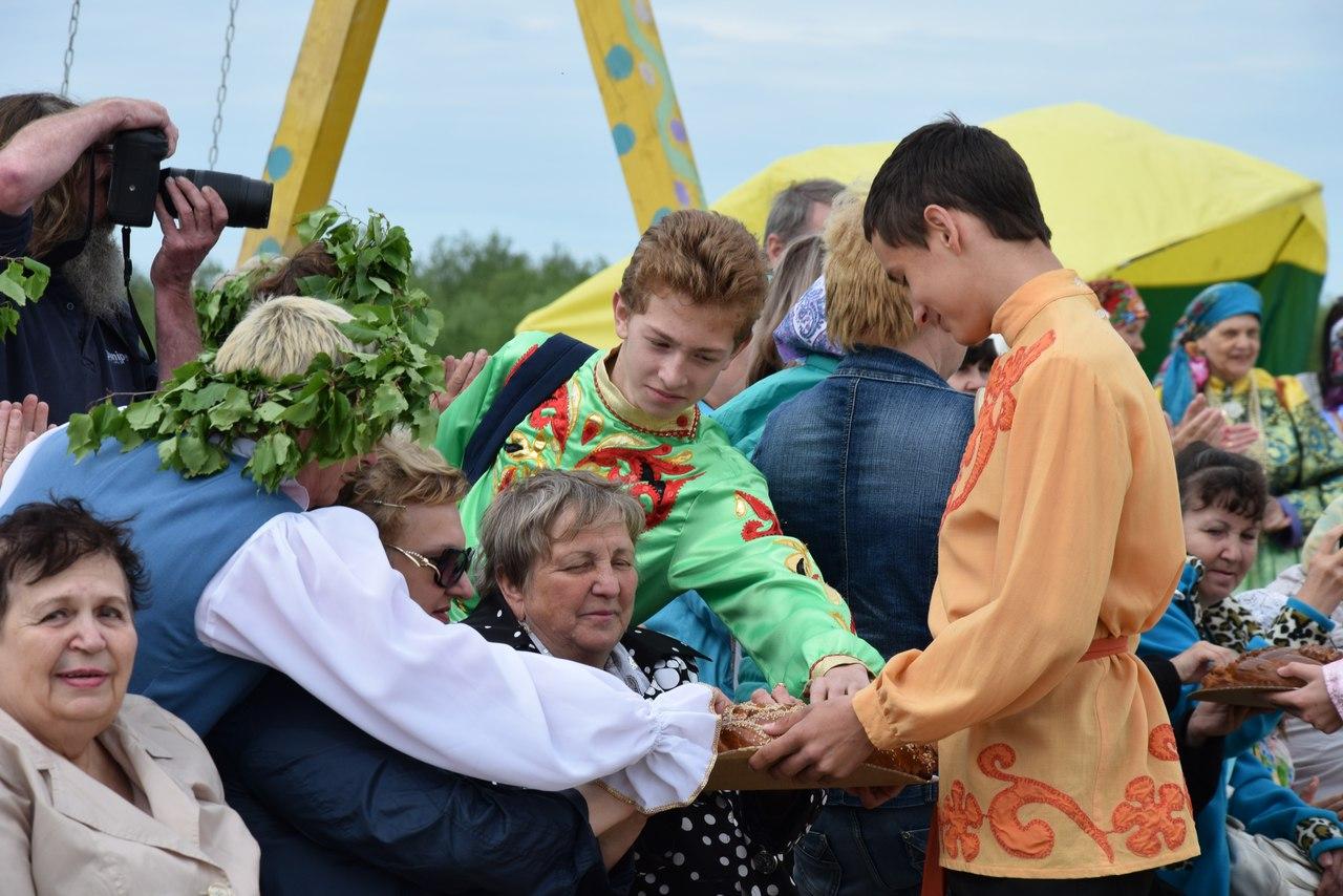 Обряды народов Республики Коми показали в Вуктыле