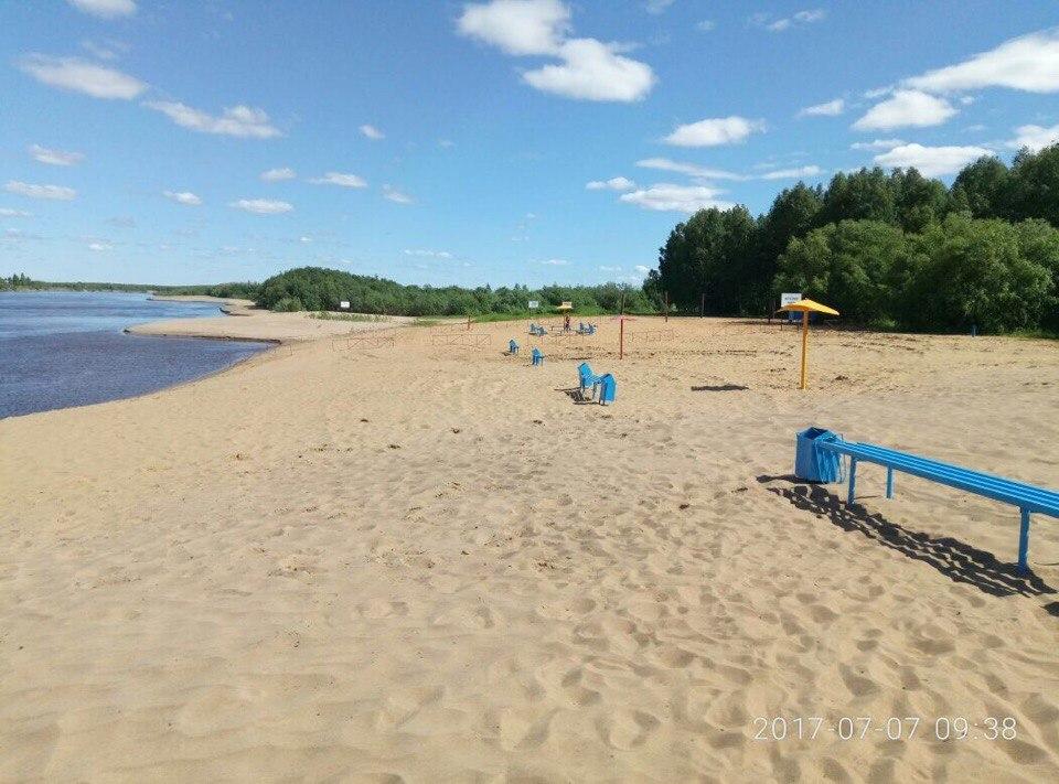 В Сыктывкаре официально открыт пляжный сезон