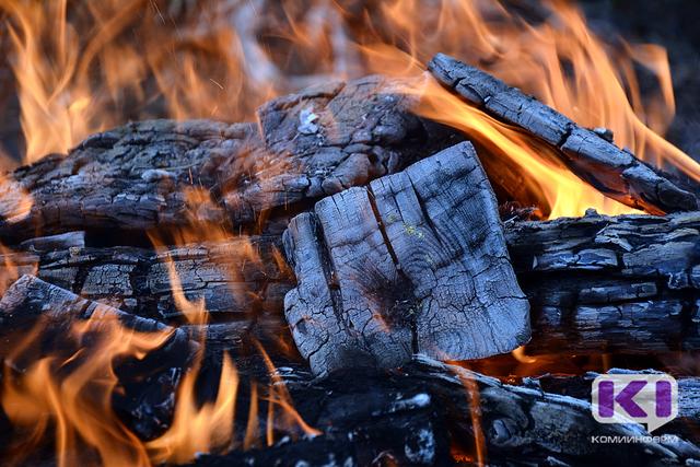 На пожаре в Сосногорском районе погиб мужчина