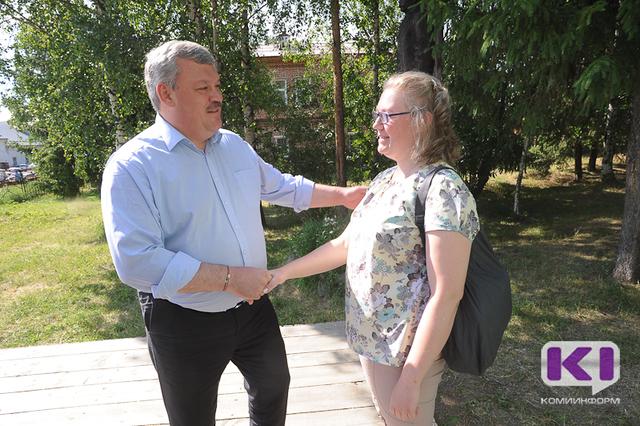 Глава Коми помог усть-цилемской многодетной семье получить путёвку в Крым