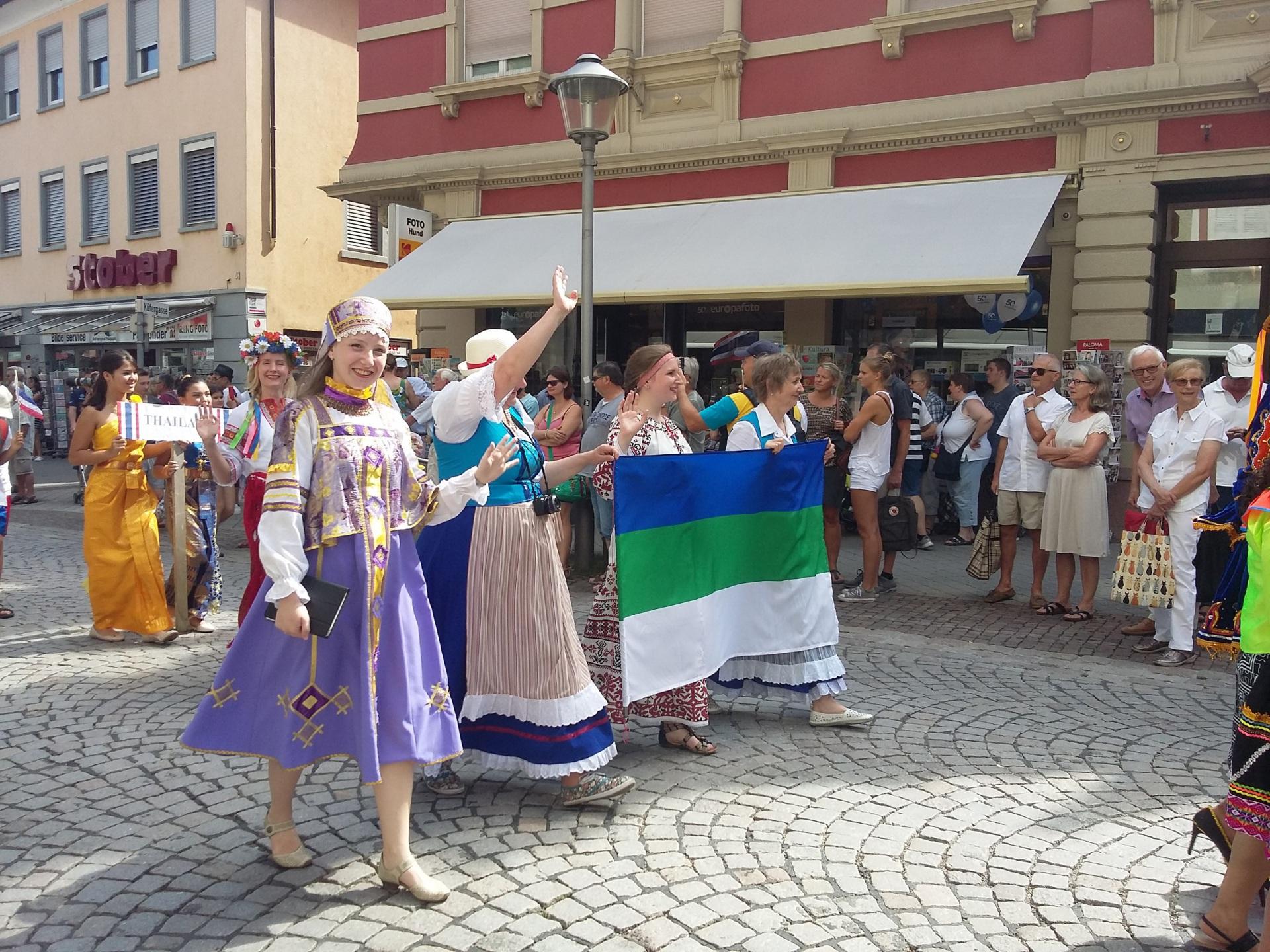 Немцы Коми побывали на международном фестивале в Оффенбурге
