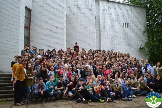 170 детей из Коми постигают в лагере под Кировом суть Российского движения школьников