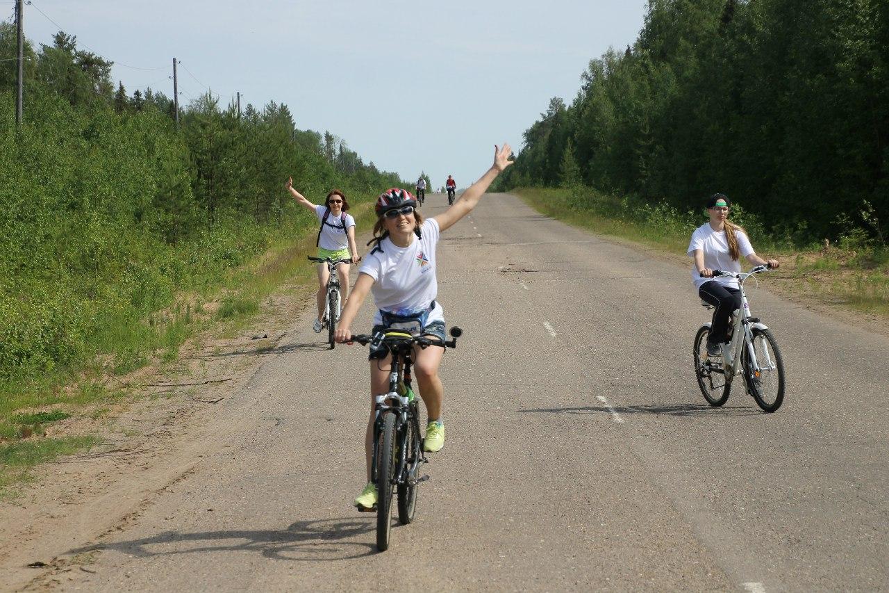 В Усть-Куломском районе устроят познавательно-экстремальный велопробег