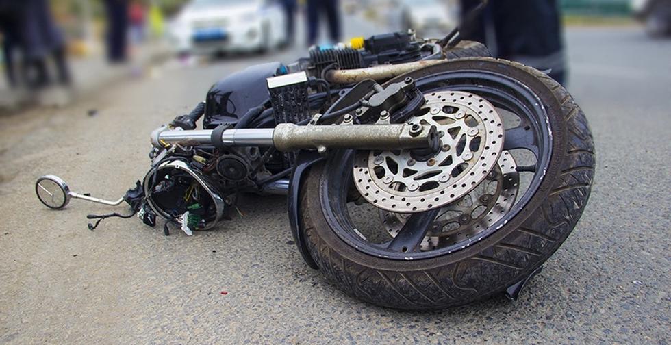 В Сосногорском районе нетрезвый мотоциклист врезался в