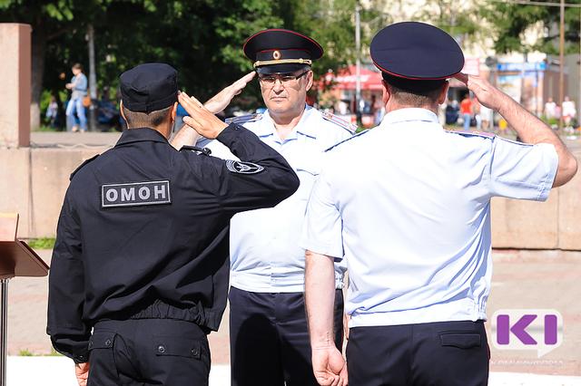 """Росгвардия Коми впервые предстала перед публикой """"при параде"""""""