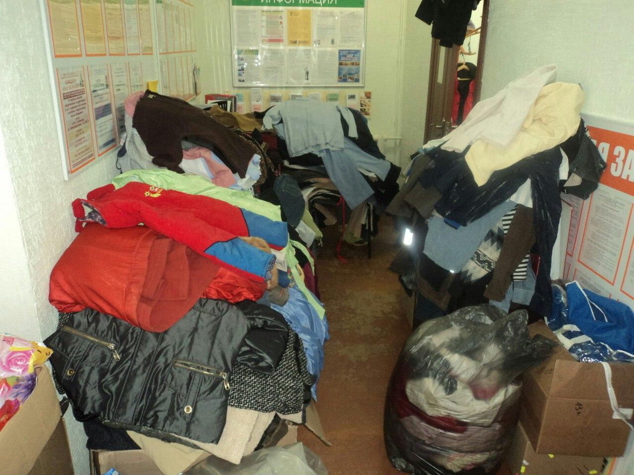 В Год добрых дел в Прилузье собирают вещи для нуждающихся